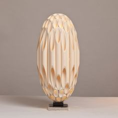 A Rare Ovoid Shaped Rougier Sculptural Lamp 2