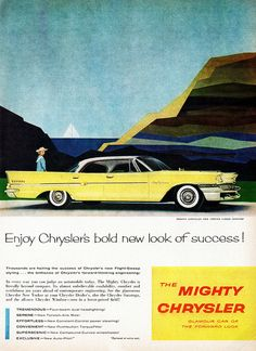 "1958 Chrysler New Yorker 4-Door Hardtop...ours was in black...with the ""hemi"" engine..."