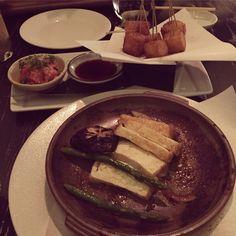 Appetizers at Nobu