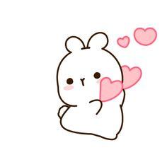 Love Heart Gif, Cute Love Gif, Cute Love Memes, Cute Cartoon Images, Emoji Images, Cute Love Cartoons, Cute Bear Drawings, Mini Drawings, Polar Bear Drawing