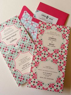 Preciosa Invitacion Boda Wedding Invitation