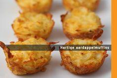 Gekruide hartige aardappelmuffins met kaas - Mijn Aardappel