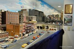 model railroad city scenery | ... his railroad being featured on the Model Railroader 2011 calendar