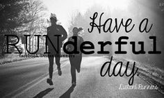 RUNderful day