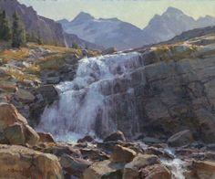 Clyde Aspevig Victoria Falls, Canadian Rockies