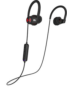 wireless headphones by JBL Bluetooth compatible up to 5-6 hour battery life (from actual users), sweatproof, 3 button mic