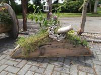8062ea956cb66 Blumenkübel mit Deko und Pflanzen Niedersachsen - Uplengen Vorschau
