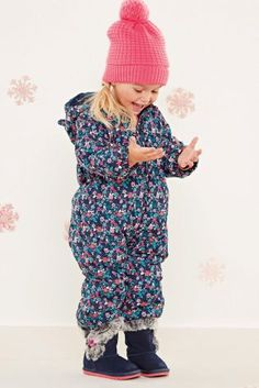 Buy Navy Ditsy Snowsuit (3mths-6yrs) from the Next UK online shop