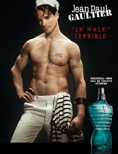 Robert Perovich for Jean Paul Gaultier Le Male Fragrance F/W 10 (Jean Paul Gaultier)