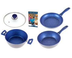 FlavorStone 9.5' Blue Sapphire Essential Cookware Set ** Want to know more, click on the image.