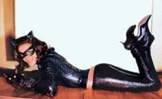 Catwoman incidentally made her first TV appearance in 1966 on the popular Adam West Batman series and was portrayed by Julie Numar.