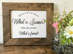 Free Printables Christian Wall Art - Spring and Easter Decor - MamaShire Christian Wall Art, Christian Quotes, Name Wall Decor, Washi Tape Diy, Easter Party, Free Printables, Projects To Try, Spring, Frame