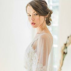 """1,128 Likes, 5 Comments - Brides & Hairpins, LLC (@bridesandhairpins) on Instagram: """"Absolutely gorgeous bridal EVERYTHING. Dress,hair. makeup and image. Swoon ❤ #bridesandhairpins…"""""""