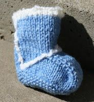 hipknitized: Free Pattern: Baby Uggs