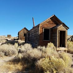 Bodie Ghost Town is a must see when traveling up Hwy 395.