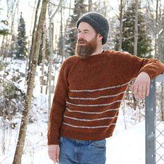 Ravelry: Winter Sailor Sweater / Vinterseilergenser pattern by Anna & Heidi Pickles Mens Knit Sweater, Knit Sweaters, Sweater Knitting Patterns, Knitting Ideas, Hair And Beard Styles, Modern Man, Sailor, Knitwear, Winter