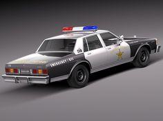 Chevrolet Caprice Sheriff 1978 Police Car