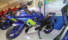 Yamaha R15 Movistar 2016 with sporty appearance