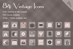Check out Epic Vintage Icons by EpicShop on Creative Market