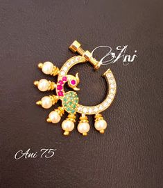 Indian Jewellery Design, Indian Jewelry, Jewelry Design, Nose Jewelry, Jewlery, Chocker, Jewelry Collection, June, Gold Necklace