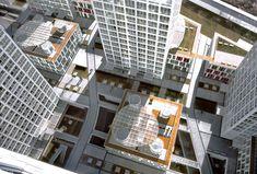 Multiple Dwelling, Shop, Office, Sport Club, School architects Riken Yamamoto & Field Shop