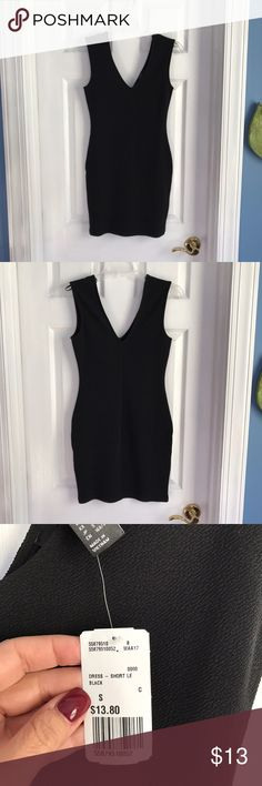 Forever 21 dress Forever 21 black dress. Never been worn, new with tags. Size small! Forever 21 Dresses Mini