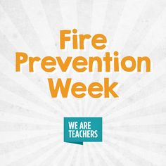 Fire Safety Tips, Fire Prevention Week, We Are Teachers, Best Apps, Ebooks, Student, Activities