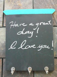 Vintage Look Chalk Board/ Key/Jewery Holder/ by Happiness2DAY, $24.00