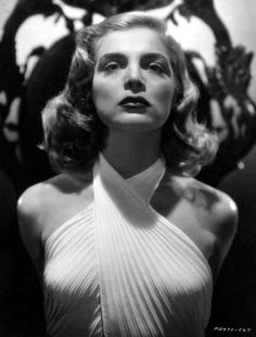"""The world knows her as Lizabeth Scott, (1922 - 2015) the husky-voiced femme fatale and noir babe. But she was born Emma Matzo of Scranton Pa. Her best film is """"Dead Reckoning"""" ('47)."""