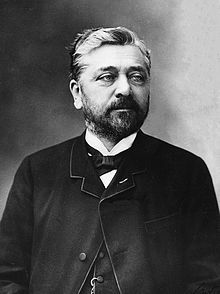 Alexandre Gustave Eiffel (born Bönickhausen;[5] /ˈaɪfəl/; French pronunciation: [ɛfɛl]; 15 December 1832 – 27 December 1923) was a French civil engineer and architect. A graduate of the prestigious École Centrale des Arts et Manufactures of France, he made his name with various bridges for the French railway network, most famously the Garabit viaduct.