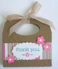 Scallop Envelope Die—Chocolate Treat Holder ~Details at www.TooCoolStamping.com