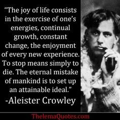 Aleister Crowley Quote