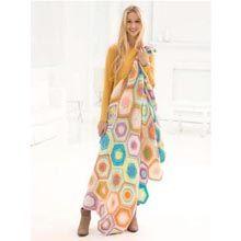 Charleston Garden Blanket, free pattern