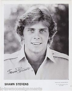 SHAWN STEVENS DAYS OF OUR LIVES TV SOAP ACTOR AUTOGRAPH SIGNED PROMO PHOTO