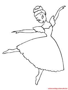 """Képtalálat a következőre: """"balerina kifestő nyomtatható"""" Balerina"""