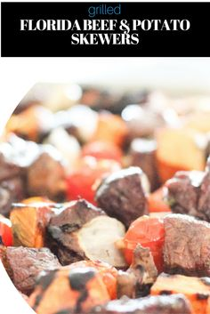 Grilled Florida Beef and Potato Skewers Recipe