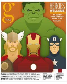 the boston globe style magazine - april 2012