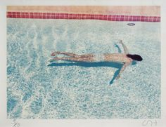 David Hockney John St. Clair Swimming 1972 c-type print from edition of 80