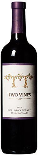 Columbia Crest MerlotCabernet Two Vines 750 mL ** You can find out more details at the link of the image.