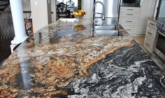 Kitchen Remodeling Countertops 10 Outstanding Examples of Granite Kitchen Countertops Ideas - Modern Kitchen Countertop Ideas (Fresh Designs for Your Home)