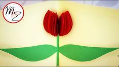 DIY cards for birthday: Pop up flower card   Maison Zizou