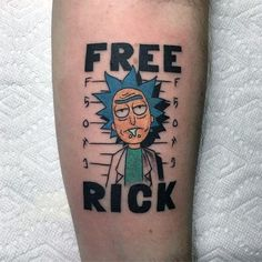 60 Rick And Morty Tattoo Designs For Men - Animated Ink I .- 60 Rick And Morty Tattoo-Designs für Männer – Animated Ink Ideen 60 Rick And Morty Tattoo Designs For Men – Animated Ink Ideas - Tattoo Geek, Tattoo Diy, Tattoo Fonts, Arm Tattoo, Sleeve Tattoos, Tattoo Sleeves, Tattoo Quotes, Tatto Design, Tattoo Designs Men