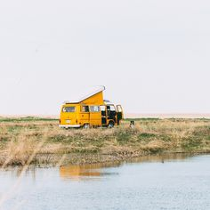 «Winter is long and I'm starting to flashback to camping with Mellow, like this time @preacherkatie and I found a camping spot in the prairies. Can't wait…»