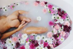 Milk Bath - Mama & Babe Newborn Photography | Radical Arrow Photography
