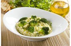 Risotto cztery sery z brokułami - przepis z portalu Przepisy.pl