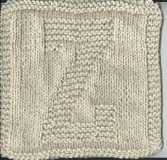 """Knitted """"Z"""" Cloth"""