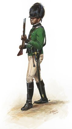 AWI British: Trooper Black Dragoons-Carolina Loyalists - 1781-1782, by Don Troiani. (www.dontroiani.com)