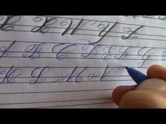 Cursive Writing - Complete Lesson - With Practice Sheets - YouTube
