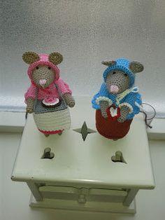 Handgemaakte Hebbedingetjes: Nog twee muizen..