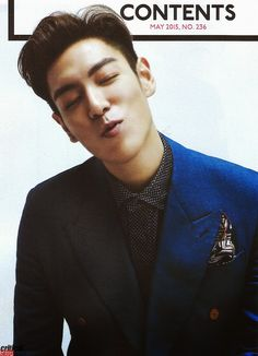 T.O.P for Esquire Korea (May 2015)